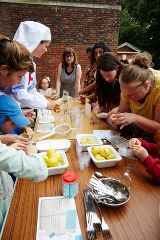 Homemade lemonade at our latest family fun day.